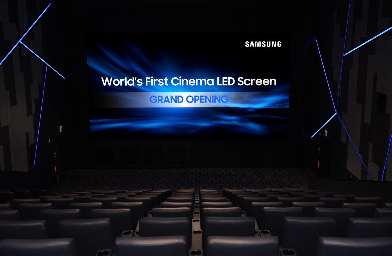 Samsung porter anche in europa il cinema led 4k con micro for Samsung arena milano