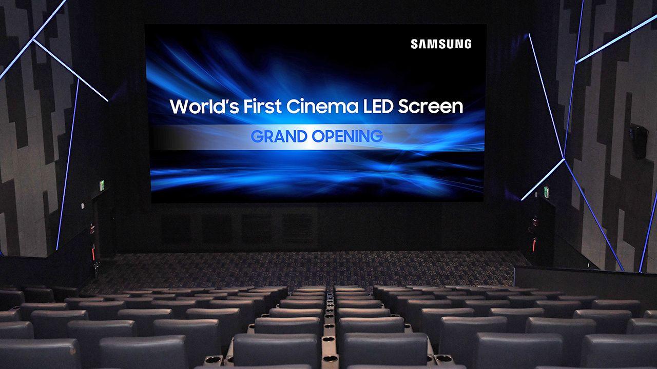 Samsung attivo il 3d cinema led di zurigo for Samsung arena milano