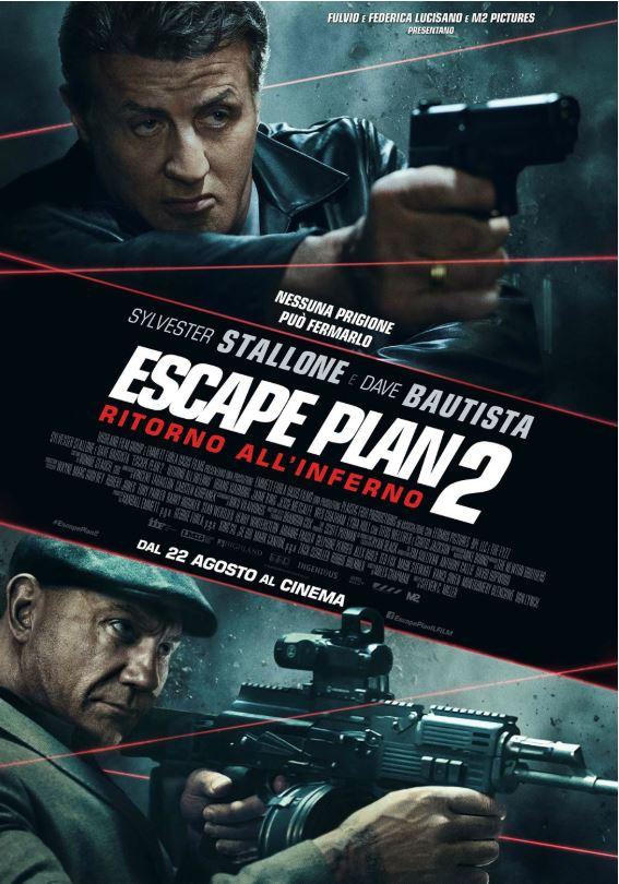 ESCAPE PLAN 2 - RITORNO ALL'INFERNO (Titolo originale: Escape Plan 2: Hades)