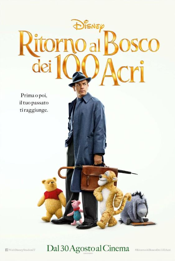 RITORNO AL BOSCO DEI 100 ACRI (Titolo originale: Christopher Robin)