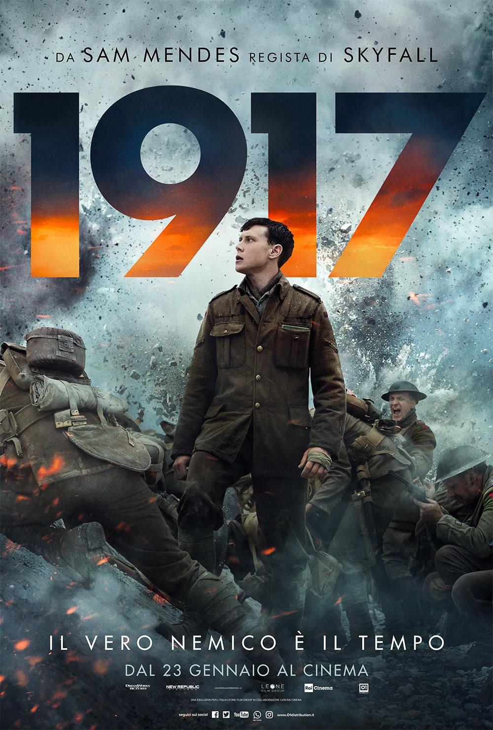 Oggi in Sala: 1917, recensione del war movie di Sam Mendes ...
